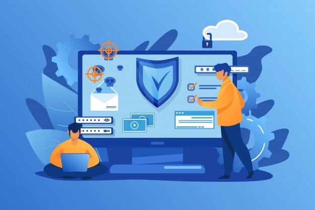 """ชื่อรูป: personal digital security ประกอบเนื้อหา: ทำไมเราต้องปกป้อง """"ข้อมูลส่วนบุคคล"""" ของตัวเอง ?"""