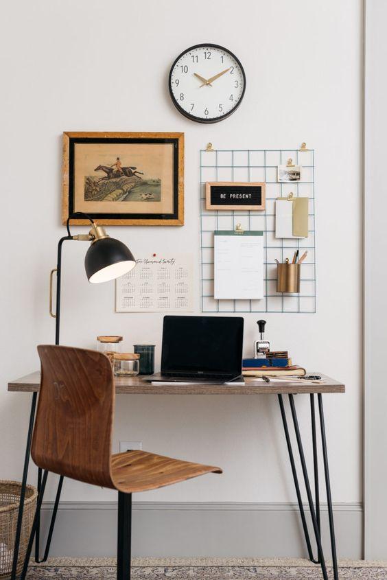 ชื่อรูป: Desk set ideas for the year 02 ประกอบเนื้อหา: รวมภาพโต๊ะทำงานสวยๆ เพื่อเป็นไอเดียจัดโต๊ะทำงานปี 2020