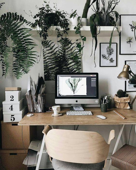 ชื่อรูป: Desk set ideas for the year 08 ประกอบเนื้อหา: รวมภาพโต๊ะทำงานสวยๆ เพื่อเป็นไอเดียจัดโต๊ะทำงานปี 2020