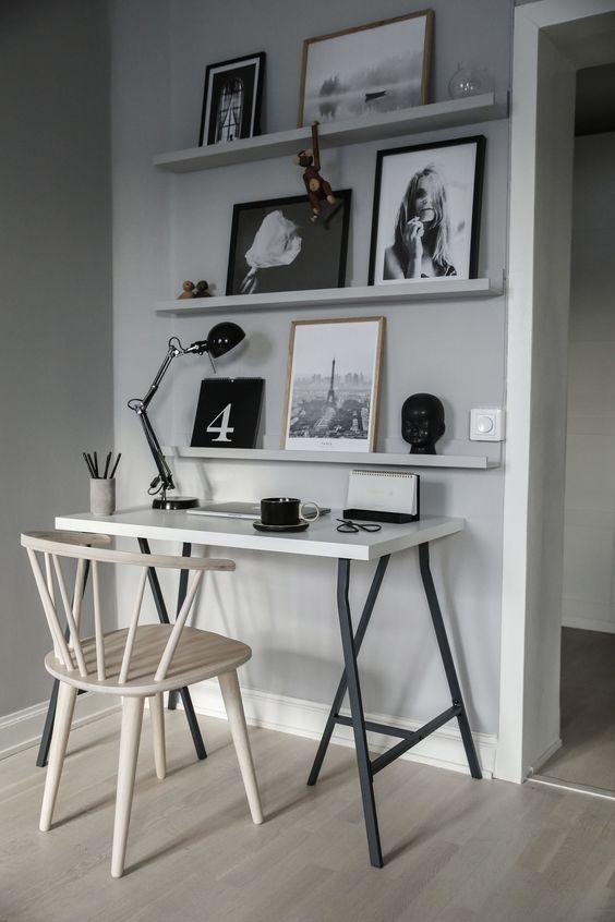 ชื่อรูป: Desk set ideas for the year 11 ประกอบเนื้อหา: รวมภาพโต๊ะทำงานสวยๆ เพื่อเป็นไอเดียจัดโต๊ะทำงานปี 2020