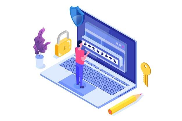 ชื่อรูป: Password 05 ประกอบเนื้อหา: ตั้งรหัสผ่านอย่างไรให้ปลอดภัย และตัวเองจดจำได้ง่าย